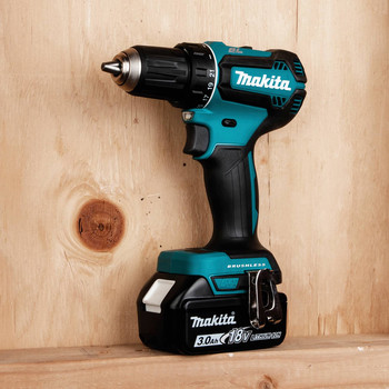 Makita XFD131 18V LXT Lithium-Ion Brushless Compact 1/2 in. Cordless Drill Driver Kit (3 Ah) image number 7