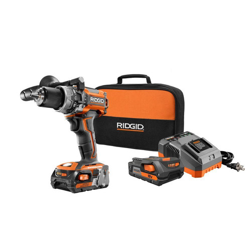 Factory Reconditioned Ridgid ZRR86116K 18V Lithium-Ion Brushless Compact Hammer Drill