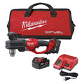 Factory Reconditioned Milwaukee 2707-82 M18 FUEL 18V Cordless Lithium-Ion HOLE HAWG 1/2 in. Right Angle Drill Kit