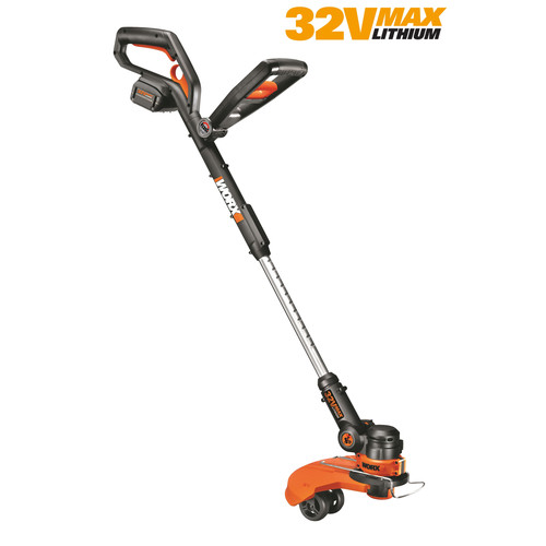 Worx WG175 GT 2.0 32V Max Lithium Cordless 3-in-1 Grass Trimmer Edger Mini-Mower