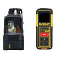 Dewalt DW0889CG Green Beam Cross Line Laser and 99 ft. Laser Distance Measurer Kit image number 2