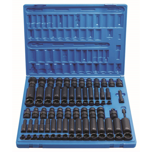 Grey Pneumatic 1281 81-Piece 3/8 in. Drive Complete Socket Set image number 0