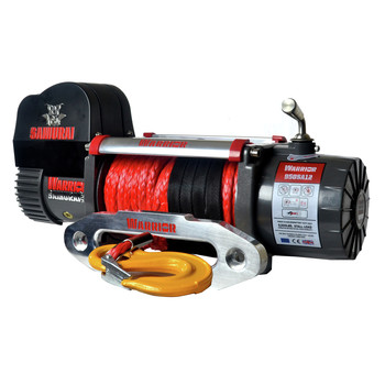 Warrior Winches S9500HS-SR 9,500 lb. Samurai Series Winch with Armortek Synthetic Rope
