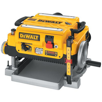 Dewalt DW735X 13 in.  Two-Speed Thickness Planer with Support Tables and Extra Knives image number 1