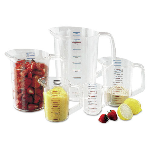 Rubbermaid 3210CLE 8 oz. Bouncer Measuring Cup (Clear)