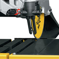 Dewalt D24000 10 in. Wet Tile Saw image number 16
