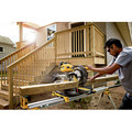 Factory Reconditioned Dewalt DHS790AT2R FLEXVOLT 120V MAX Brushless Lithium-Ion 12 in. Cordless Double Bevel Compound Silding Miter Saw Kit (6 Ah) image number 3