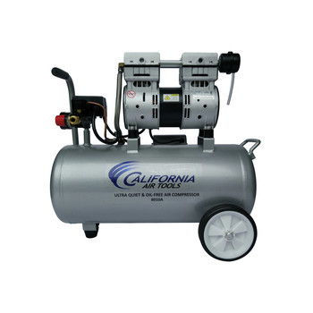 California Air Tools CAT-8010A 1 HP 8 Gallon Oil-Free Hotdog Air Compressor