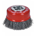Bosch WBX318 X-LOCK Arbor Carbon Steel Crimped Wire 3 in. Cup Brush image number 1