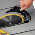 Dewalt DWE7480 10 in. 15 Amp Site-Pro Compact Jobsite Table Saw image number 13