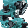Makita XPK02Z 18V LXT AWS Capable Brushless Lithium-Ion 3-1/4 in. Cordless Planer (Tool Only) image number 11