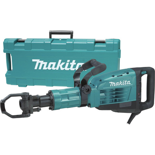 Factory Reconditioned Makita HM1307CB-R 35 lb. 1-1/8 in. Hex Demolition Hammer Kit
