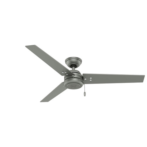 Hunter 59262 52 in. Cassius Brushed-Nickle Ceiling Fan image number 0