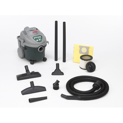 Shop-Vac 5870400 4 Gallon 4.5 Peak HP AllAround Plus Wet/Dry Vacuum image number 0