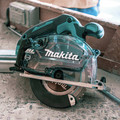 Makita XSC04Z 18V LXT Lithium-Ion Brushless Cordless 5-7/8 in. Metal Cutting Saw with Electric Brake and Chip Collector (Tool Only) image number 9