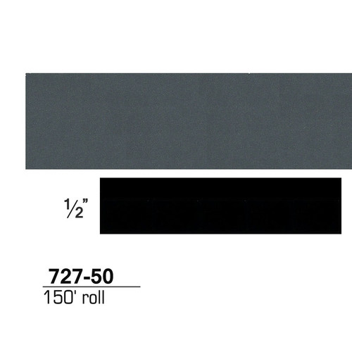 3M 72750 Scotchcal Striping Tape, Light Charcoal Metallic, 1/2 in. x 150 ft.