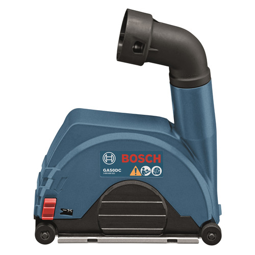 Bosch GA50DC 4-1/2 in. to 5 in. Small Angle Grinder Dust Collection Attachment image number 0