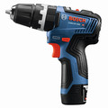 Bosch GSB12V-300B22 12V Max Brushless Lithium-Ion 3/8 in. Cordless Hammer Drill Driver Kit (2 Ah) image number 2