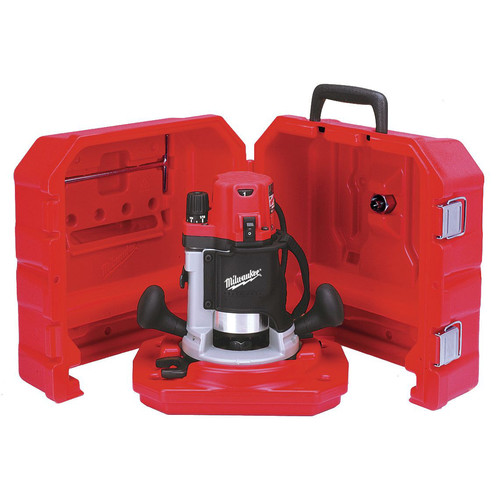 Milwaukee 5616-21 2-1/4 MAX HP BodyGrip Router with Case image number 0