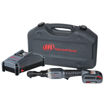 Ingersoll Rand R3130-K12 Variable Speed Lithium-Ion 3/8 in. Cordless Ratchet Wrench Kit with (1) 2.5 Ah Batt.