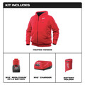 Milwaukee 302R-21XL M12 12V Li-Ion Heated Hoodie Kit - XL image number 1