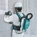 Makita XCV10ZX 18V X2 LXT Lithium-Ion (36V) Brushless 1/2 Gallon HEPA Filter AWS Capable Backpack Dry Dust Extractor (Tool Only) image number 9