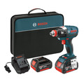 Bosch IDH182-01 18V Cordless Lithium-Ion Brushless Socket Ready Impact Driver Kit