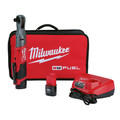 Factory Reconditioned Milwaukee 2558-82 M12 Fuel 1/2 in. Ratchet 2 Battery Kit