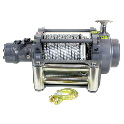 Warrior Winches 15000NH 15,000 lb. NH Series Hydraulic Winch image number 0