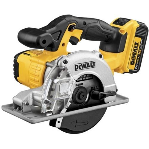 Factory Reconditioned Dewalt DCS373M2R 20V MAX Cordless Lithium-Ion 5-1/2 in. Metal Cutting Circular Saw Kit