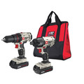 Porter-Cable PCCK604L2 20V MAX Cordless Lithium-Ion Drill Driver and Impact Drill Kit image number 0