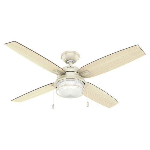 Hunter 59213 52 in. Ocala Autumn Cr?me Ceiling Fan with Light