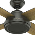 Hunter 59448 52 in. Dempsey Noble Bronze Ceiling Fan with Handheld Remote image number 3
