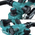 Makita XPK02Z 18V LXT AWS Capable Brushless Lithium-Ion 3-1/4 in. Cordless Planer (Tool Only) image number 12