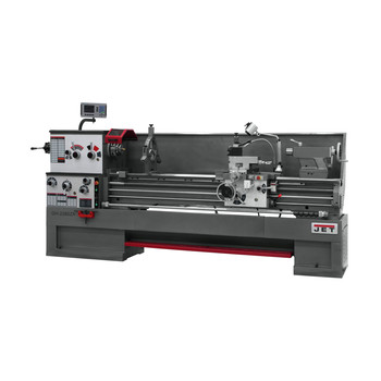 JET GH-2280ZX Lathe with 300S DRO and Collet Closer