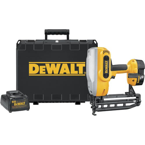 Dewalt DC616K 18V XRP Cordless 16-Gauge 1-1/4 in. - 2-1/2 in. Straight Finish Nailer Kit