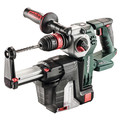 Metabo 600211900 KHA 18 LTX BL 24 Quick 18V Lithium-Ion SDS-Plus Brushless 1 in. Cordless Rotary Hammer with HEPA Dust Extractor (Tool Only) image number 0