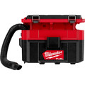 Milwaukee 0970-20 M18 FUEL PACKOUT Lithium-Ion Brushless 2.5 Gallon Cordless Wet/Dry Vacuum (Tool Only) image number 2