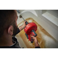 Milwaukee 2571-20 12V Cordless Li-Ion Drain Snake with Bucket (Tool Only) image number 7