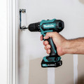 Makita FD09R1 12V max CXT Lithium-Ion Brushless 3/8 in. Cordless Drill Driver Kit (2 Ah) image number 9