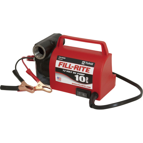 Fill-Rite FR1612 12V 10 GPM Pump with 10 ft. Hose