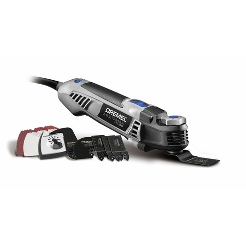 Factory Reconditioned Dremel MM50-DR-RT Multi-Max 5 Amp Tool-Less Oscillating Tool Kit with Accessory Set image number 0