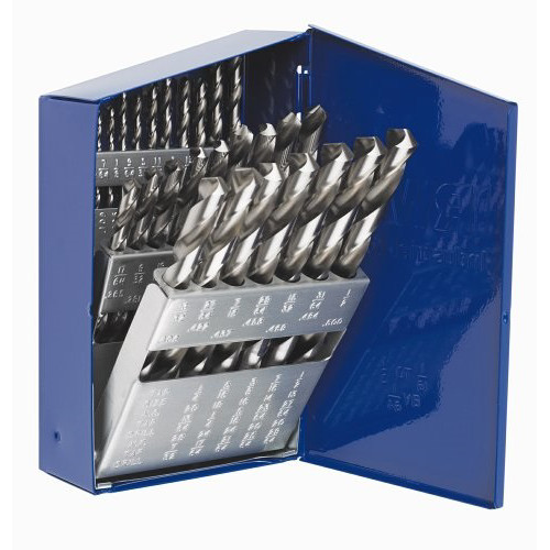 Irwin Hanson 60138 29-Piece High Speed Steel Drill Bit Set