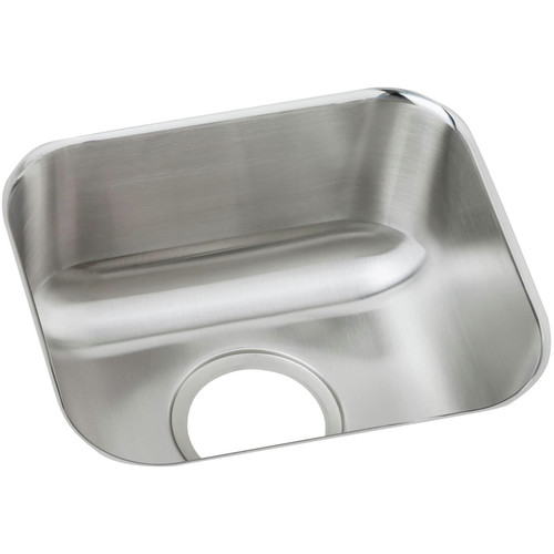 Elkay DXUH1210 Dayton 14-1/2 in. x 12-1/2 in. x 6-1/2 in., Single Bowl Undermount Bar Sink (Stainless Steel) image number 0
