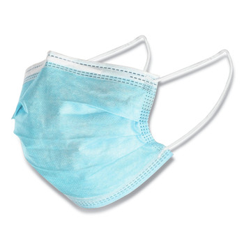 GN1 WXDKZ0007-ES Face Mask, Blue, 2,000/Carton