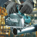 Makita XSC04Z 18V LXT Lithium-Ion Brushless Cordless 5-7/8 in. Metal Cutting Saw with Electric Brake and Chip Collector (Tool Only) image number 10