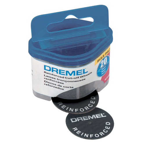 Dremel 426B 1-1/4 in. Fiberglass Reinforced Cut-Off Wheel 20-Pack