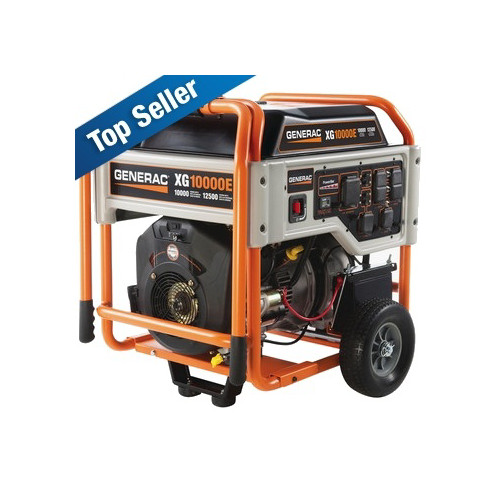 Factory Reconditioned Generac XG10000E XG Series 10,000 Watt Electric Start Portable Generator