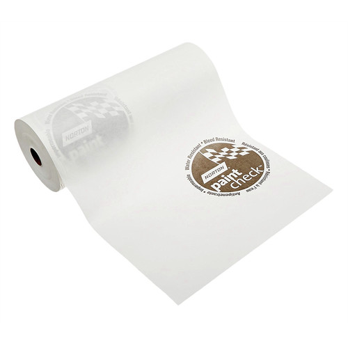 Norton 403 12 in. x 750 ft. Paint Check Polycated Masking Paper - White image number 0