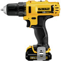 Factory Reconditioned Dewalt DCD710S2R 12V MAX Lithium-Ion 3/8 in. Cordless Drill Driver Kit with Keyless Chuck (1.5 Ah) image number 1